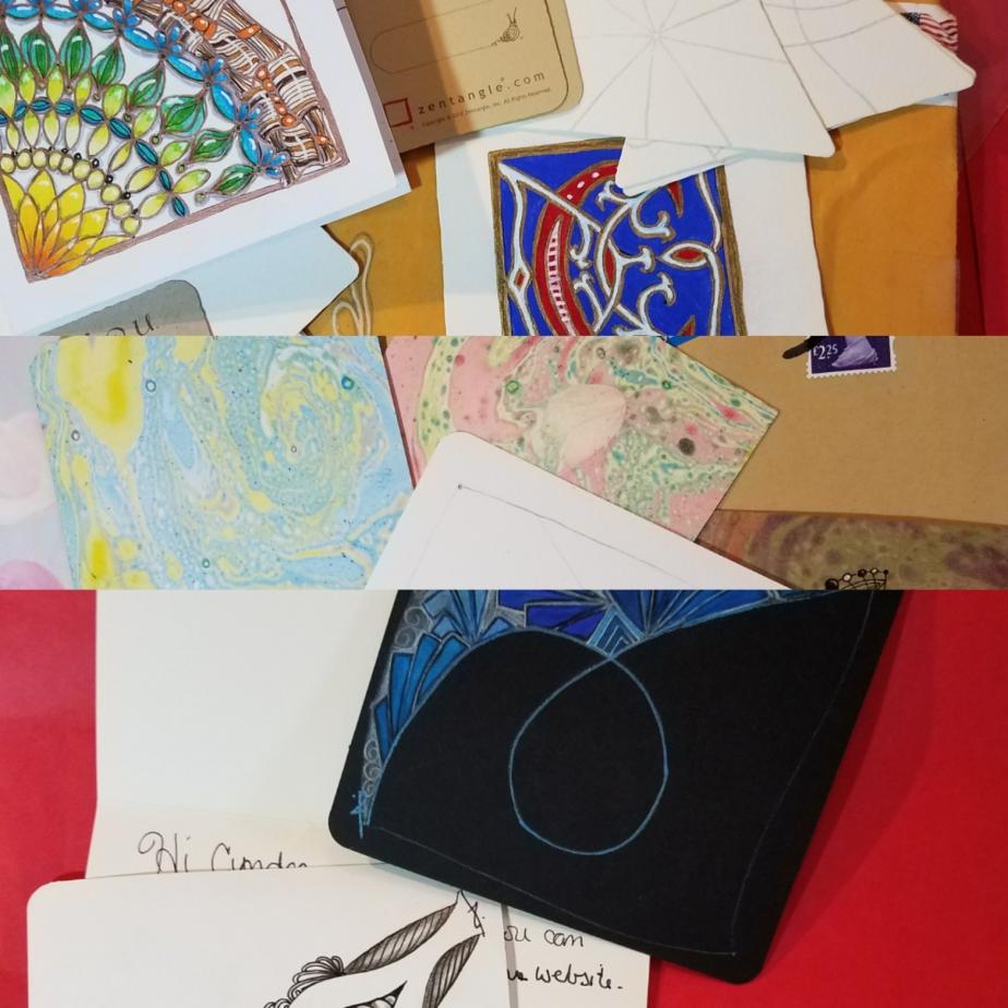 Traveling Tangles Project: Terri Delaune,CZT