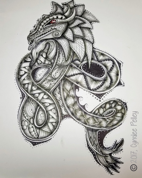 Tangled dragon image by Cyndee Pelley