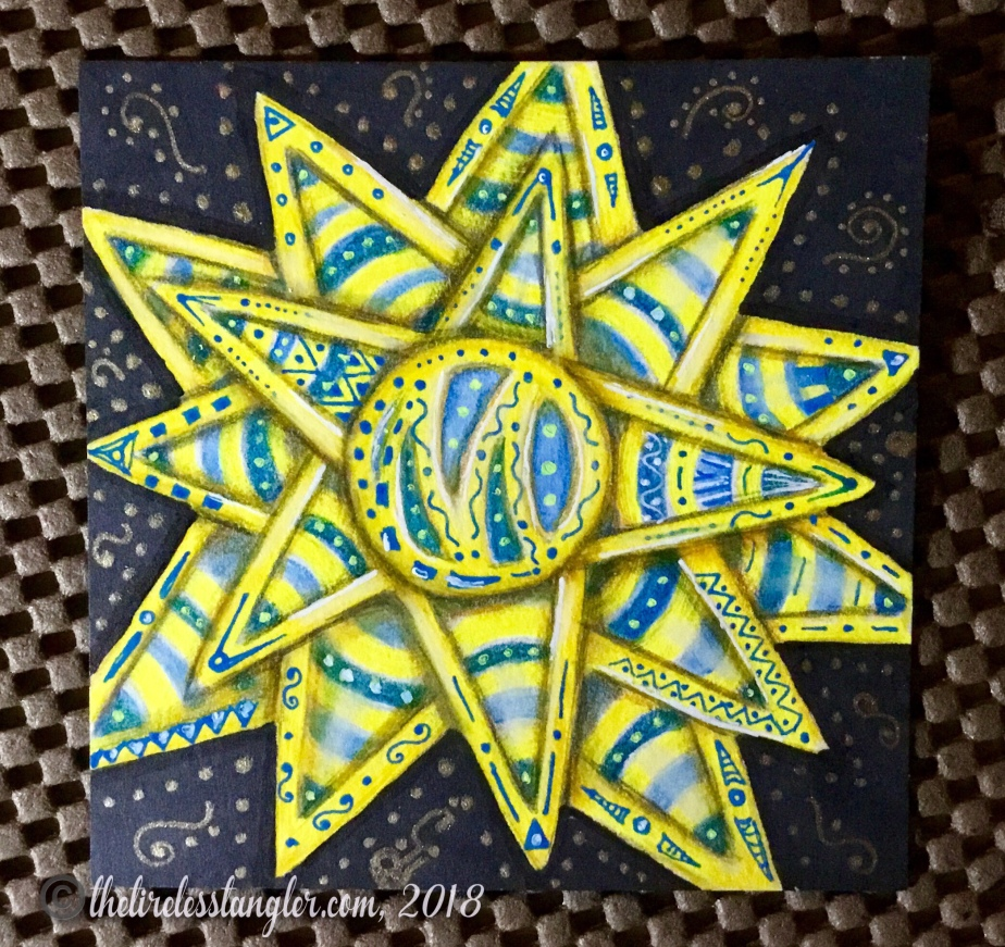 It's a String Thing Challenge 231 with Eni Oken's Blue Sky